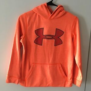 Under Armour Boys Hooded Sweatshirt Size Youth M